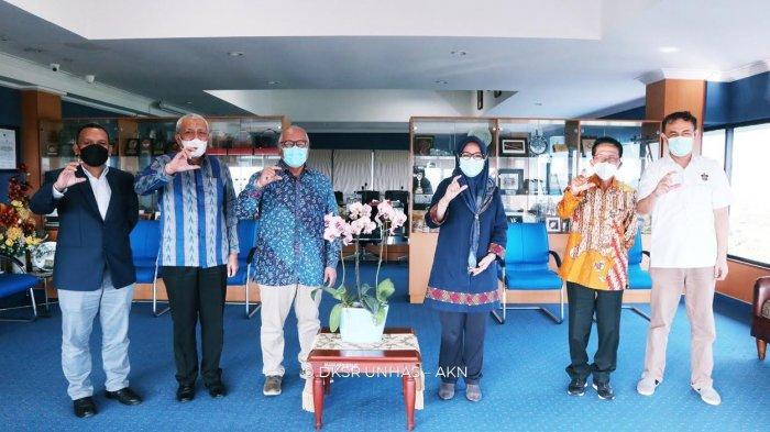 Bertandang ke Unhas, Rektor Universitas Moestopo Bahas Kerja Sama Tridharma