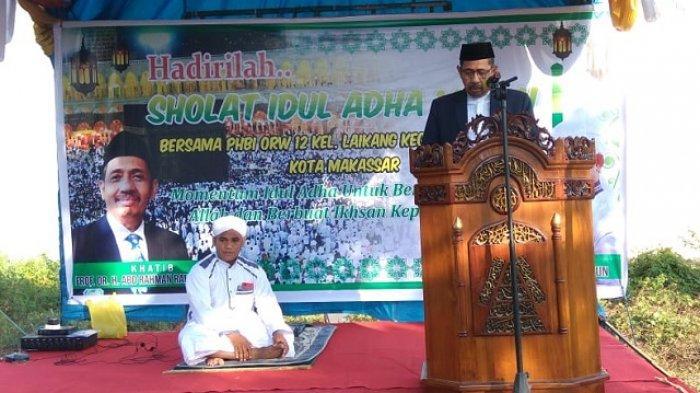 Contoh Khutbah Iduladha Pendek Bisa Dibaca di Rumah Lengkap Khutbah Pertama dan 2, Tema Pengorbanan