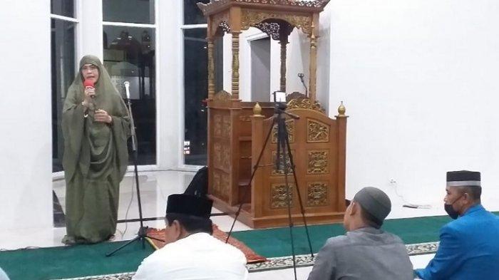Rektor UIM: Salat Tarwih Perdana di Masjid As Shahabah UIM dengan Prokes Covid-19