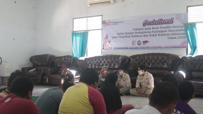 Relawan Demokrasi Sosialisasi Pilwali Makassar ke Penyandang Disabilitas