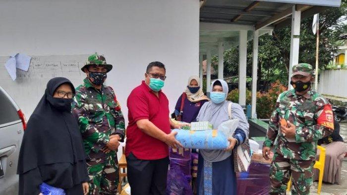 Relawan Kopel Distribusi Sembako untuk Korban Gempa di Majene