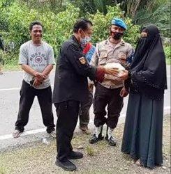 Cerita Relawan Pinrang Antar Bantuan di Desa Terisolir Ulumanda Pascagempa Sulbar