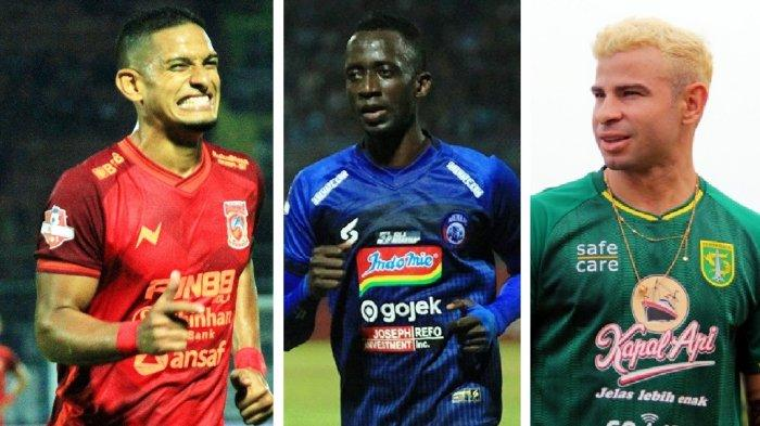 Daftar Pemain Asing Sementara? PSM, Bali United, Madura United, Persebaya Komplit, Persib & Persija?