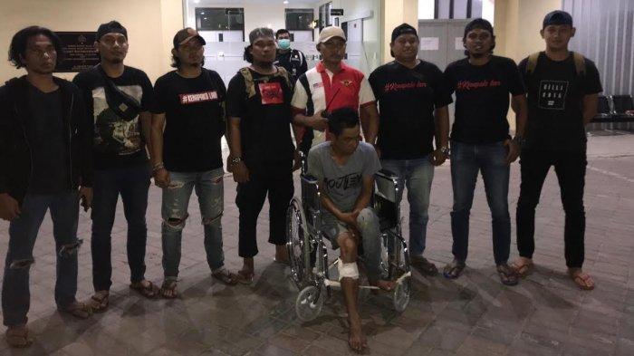 Berusaha Kabur, Residivis Pencurian HP Ditembak Tim Resmob Panakkukang Makassar