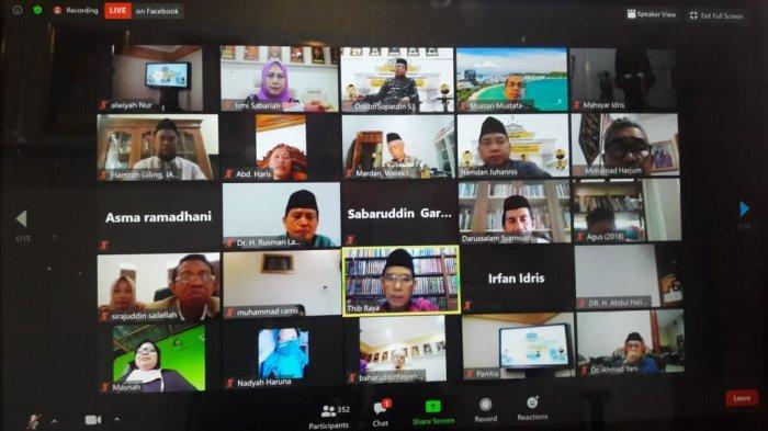 Rindu dan Haru dalam Reuni IKA UIN Alauddin Makassar.
