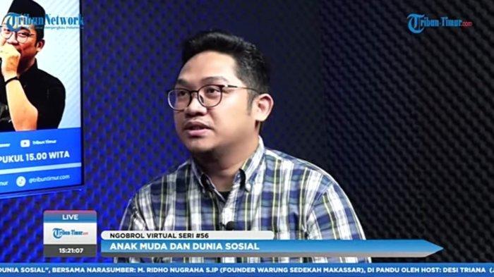 Pandemi Covid-19, Warung Sedekah Makassar Borong Makanan UMKM untuk Dibagikan ke Masyarakat