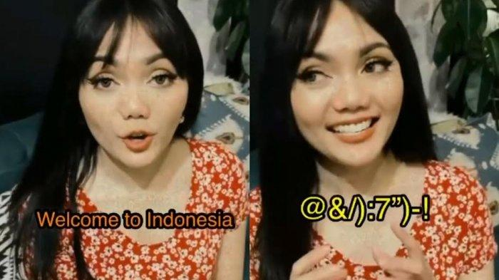 Rina Nose Hanya Diam Saat Ikut Unggah Video Viral Lagu Welcome to Indonesia, Ini Maksudnya