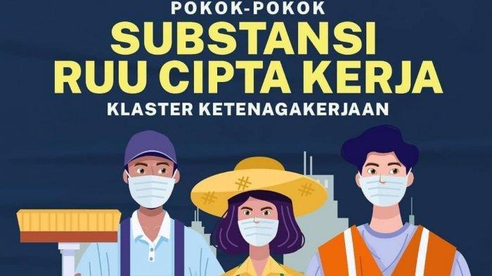 Ringkasan Omnibus Law Ruu Cipta Kerja Klaster Ketenagakerjaan Mulai Pkwt Umk Pesangon Hingga Tka Tribun Timur