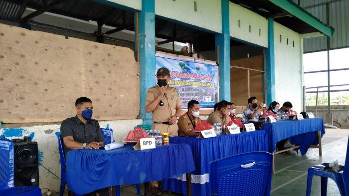 Pemdes Mattoangin Gelar Musyawarah Penyusunan RKP Desa Tahun 2022 Dirangkaikan Acara Penyaluran BLT