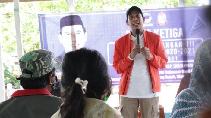 Ketua DPRD Makassar Rudianto Lallo Ajak Warga Pulau Sangkarrang Vaksinasi Covid-19