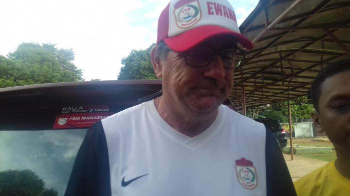 Pelatih PSM Makassar, Robert Rene Alberts