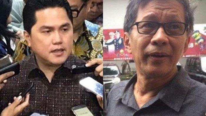 Rocky Gerung Bikin Panas Telinga Lagi, Sebut Menteri Erick Thohir Cari Panggung Lewat Skandal Garuda