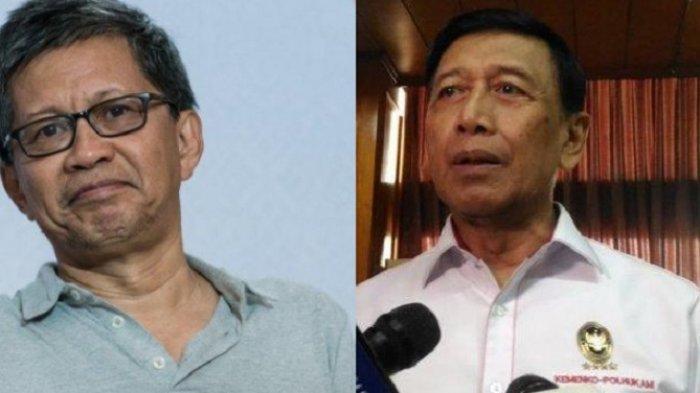 Lagi Ramai Tim Bentukan Jenderal Wiranto, Rocky Gerung: Penguasa Gaji Akademisi Intai Warganegara