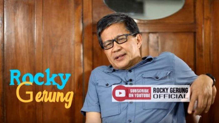 Reaksi Rocky Gerung Ditanya Kenapa Tak Pernah Lagi Muncul di ILC TV One Berikut Jawabannya
