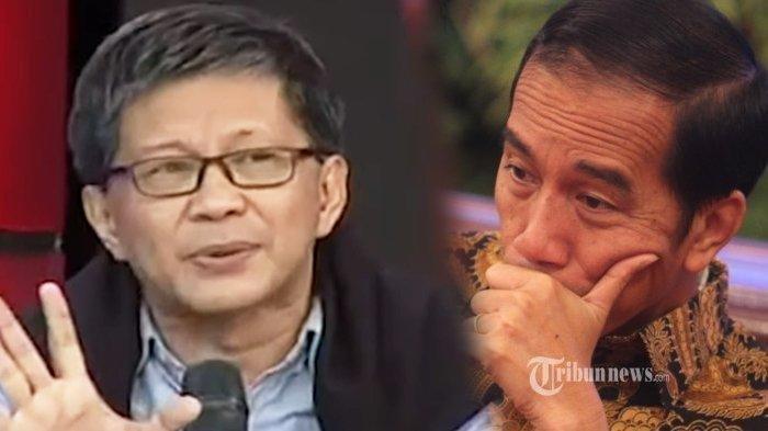 Rocky Gerung Anggap Bola di Kaki Jokowi Soal Rencana Kudeta AHY di Partai Demokrat, Moeldoko Ketipu