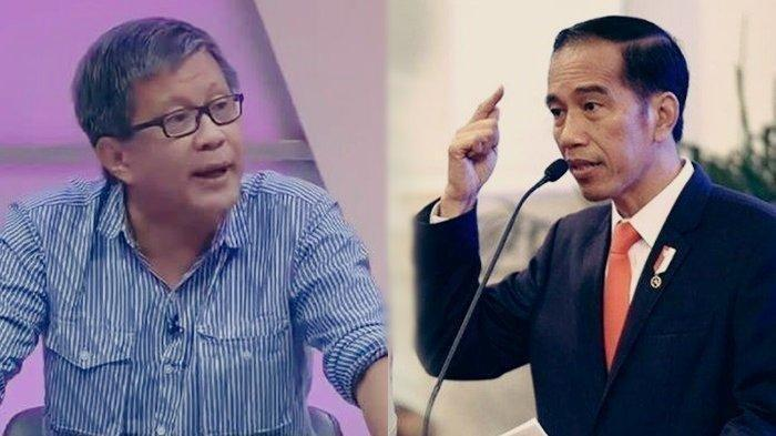 Beraninya Rocky Gerung Kritik Jokowi di Mata Najwa Semalam: Omnibus Law Ciptakan Kleptokrat Apa Itu?