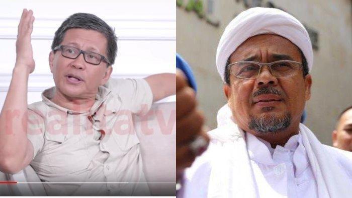 Netizen Soroti Pertanyaan Rocky Gerung Soal Penderitaan Rizieq Shihab Pasca Pulang ke Indonesia