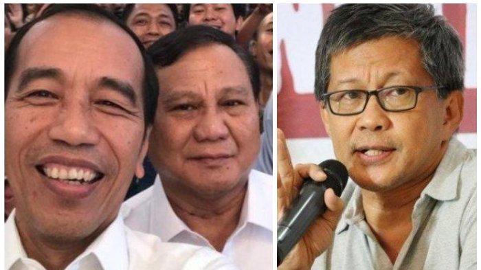 Rocky Gerung Tinggalkan Prabowo Gegara Gabung Jokowi, Ajak Kampret Berpaling dari Ketum Gerindra