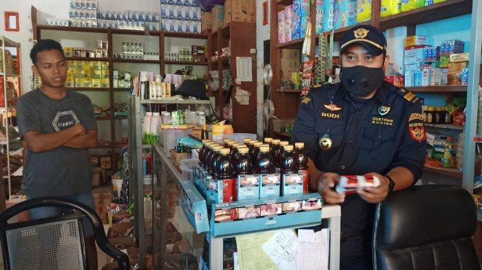 Bea dan Cukai TMP C Malili Sinyalir Rokok Ilegal Mulai Beredar di Luwu Utara