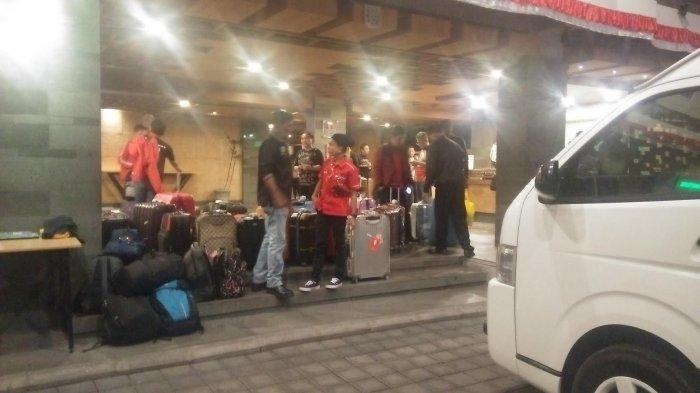 Rombongan PDIP Sulsel Nginap di Hotel Swisss-Bel Express Kuta Bali