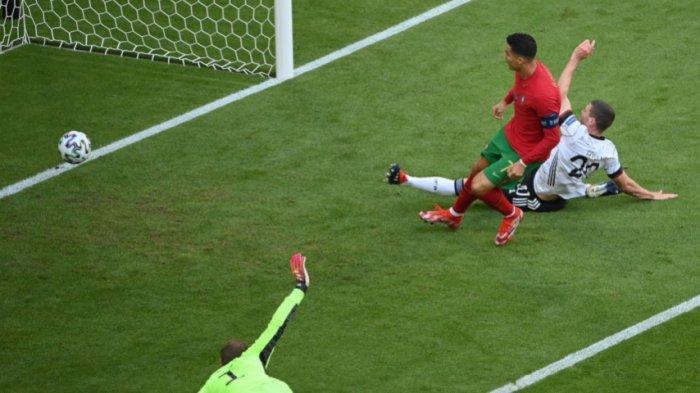 Jadi Kandidat Juara Portugal Malah Hancur Lebur Dipermak Jerman, 6 Gol Tercipta Ronaldo 1 Gol 1 Asis