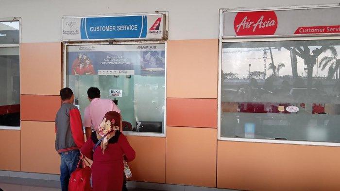 4 Jam Tak Ada Aktivitas Customer Service Sriwijaya Air di Bandara, Penumpang Ngaku Bingung