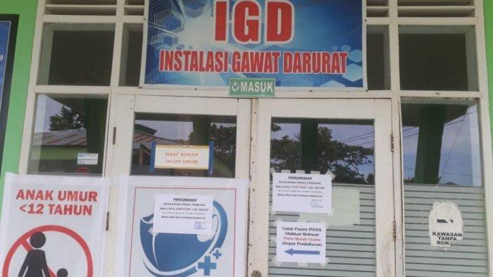 4 Dokter Positif Corona, IGD RSUD Mamuju Tutup Sementara