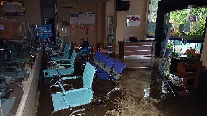 Banjir, Pelayanan di Kantor KPPN Sinjai Sempat Terhenti