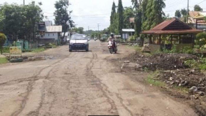 Rekonstruksi Jalan di Cabenge Soppeng Mulai Dikerjakan