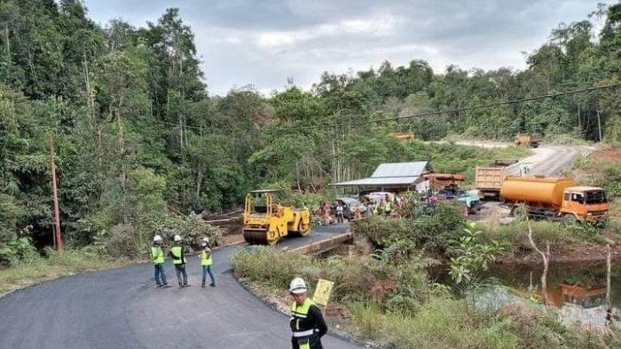 Pemprov Sulsel Alokasikan Rp 43 M Bangun Jalan Perbatasan Luwu Timur - Sulteng
