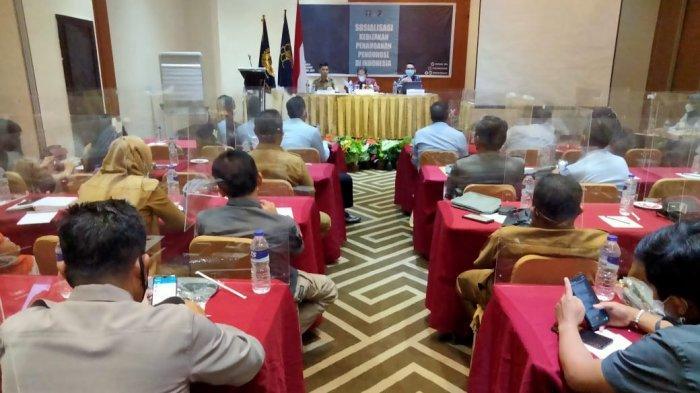 Minimalisir Pelanggaran Pengungsi, Rudenim Makassar Sosialisasi Kebijakan Penanganan Pengungsi Asing