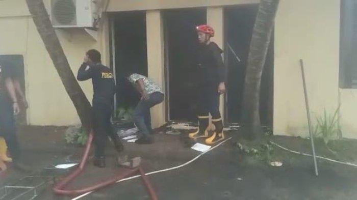 Rumah Dinas Kapolres Parepare Terbakar, Diduga Akibat Korsleting Listrik Pendingin Ruangan