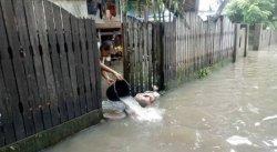 Kelurahan Lumpue Parepare Banjir Selutut