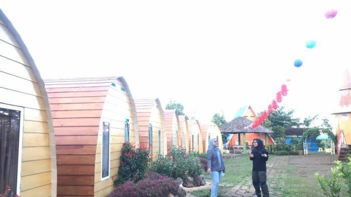 Rumah Kurcaci D'sawah Malino, Wisata Baru di Gowa, Buka Pintu Kamar Disuguhi Potret Pegunungan