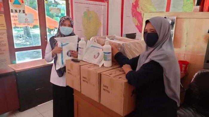 Pertama Kalinya, RS Puang Sabbe Anggeraja Enrekag Dapat Bantuan APD