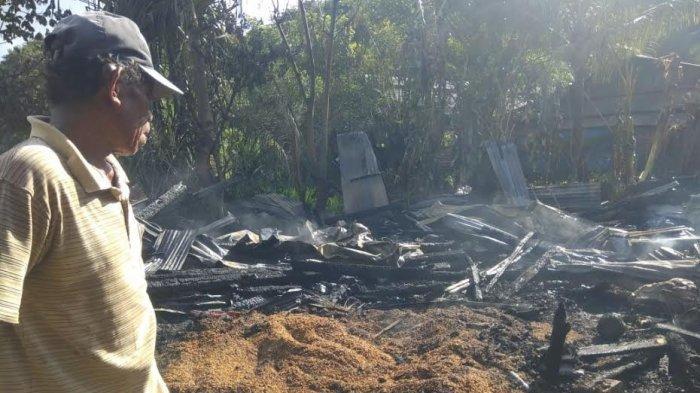 Satu Rumah Warga Hangus Dilalap Api di Tellumpanua Barru