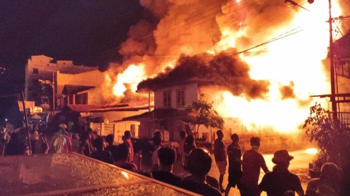 Ini Penyebab Enam Rumah di Desa Nikkel Luwu Timur Terbakar