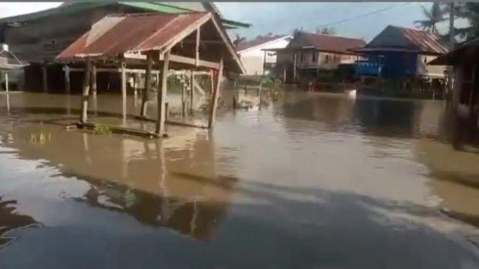 Tiga Desa Terendam Banjir di Sibulue-Bone, Ketinggian Air Capai Betis Orang Dewasa
