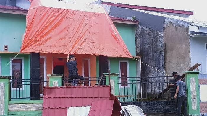 18 Rumah Rusak Diterjang Angin Kencang di Sinjai, BMKG Makassar Minta Warga Tetap Waspada