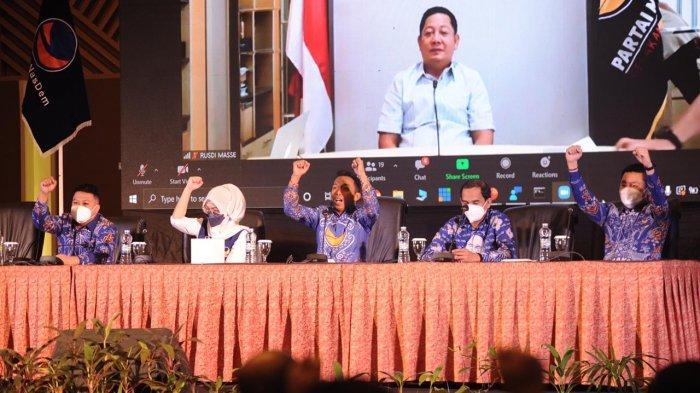 Rekrut 73 Ribu Kader Makassar, RMS Yakin Nasdem Ulang Kemenangan di 2024