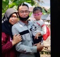 Perjalanan Cinta Rusni & Supianto Korban Sriwijaya Air Asal Pinrang, Kenalan di FB hingga Menikah