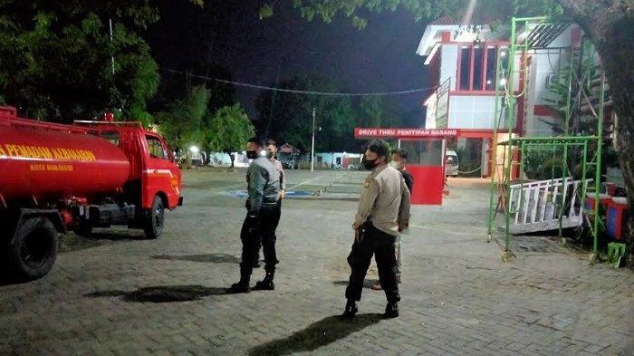 Kebakaran di Gudang Pakaian Rutan Kelas I Makassar, Sejumlah Napi Baru Dievakuasi