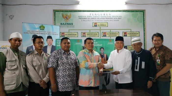 Distribusikan Zakat di Daerah Terpencil, AMCF Gandeng Baznas Sulsel