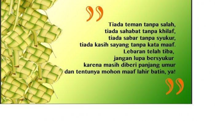 Berikut 70 Ucapan Selamat Hari Raya Idul Fitri 1440 H Berbagai Bahasa, Cocok untuk Update Statuts!