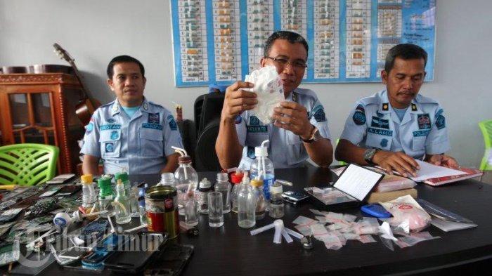 Razia di Rutan Klas I Makassar, Petugas Temukan Sabu di Popok Bayi