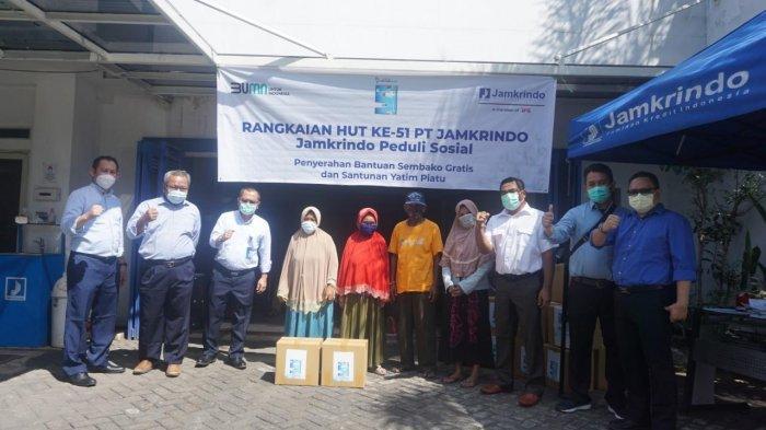 PT Jamkrindo Santuni 1.000 Anak Yatim