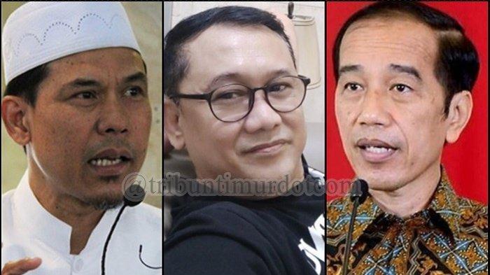 Sahabat Munarman Minta Jokowi Bebaskan Munarman,Denny Siregar: Munafik ya Mereka? Sesuai Kepentingan