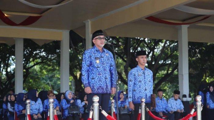 Upacara Hari Kesadaran Nasional, Bupati Bantaeng Sahabuddin Minta ASN Lakukan Ini
