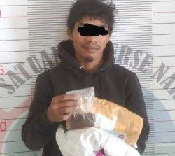 Diduga Jadi Pengedar Tembakau Sintetis, Sahrul Gunawan Ditangkap di Sorowako Luwu Timur
