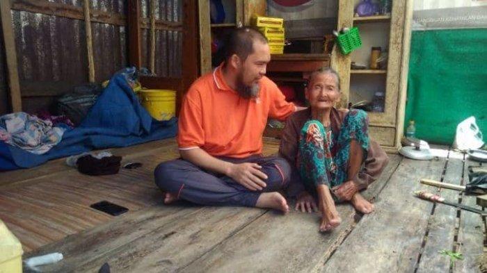 Indo Roi Butuh Bantuan Dermawan, Tinggal Seorang Diri di Gubuk dan Hidup dari Bantuan Tetangga